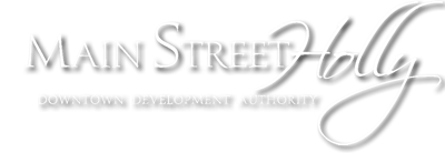 Main Street Holly Downtown Development Authority Logo